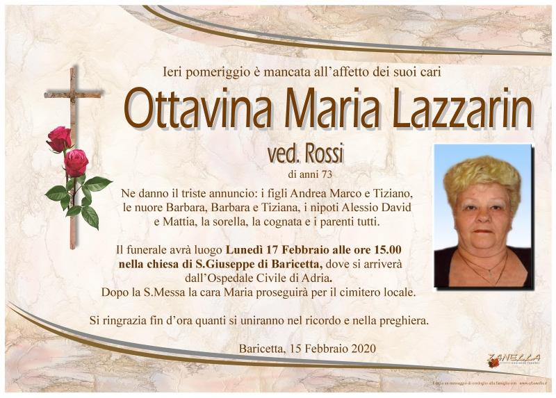 Ottavina Maria Lazzarin