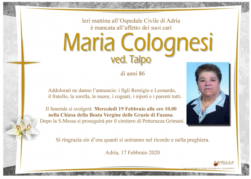 Maria Colognesi