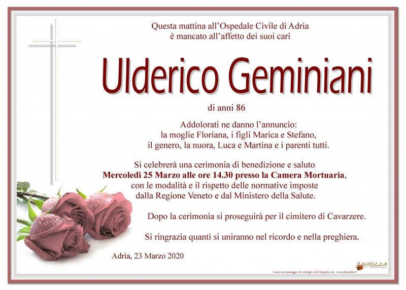 Ulderico Geminiani