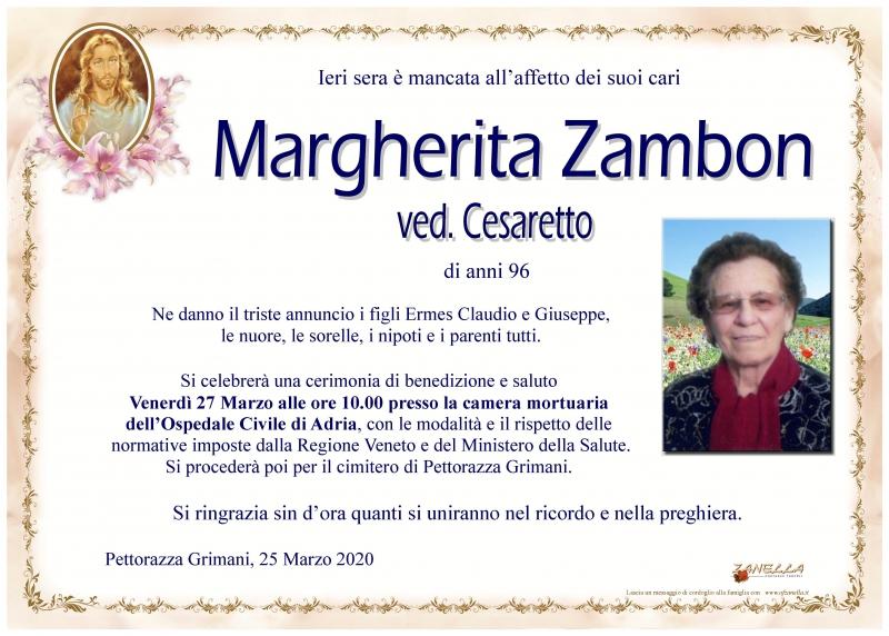 Margherita Zambon