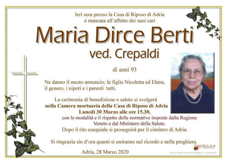 Maria Dirce Berti