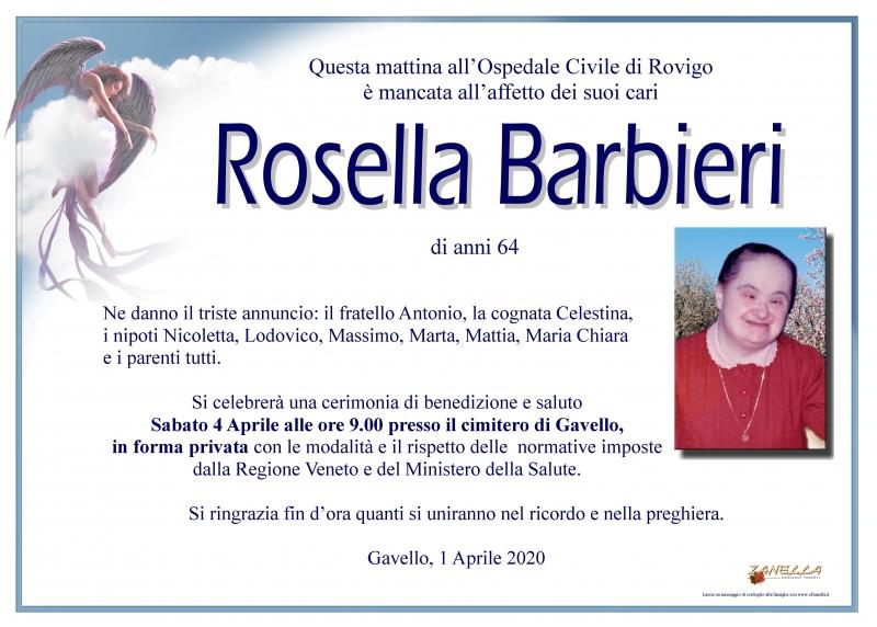 Rosella Barbieri