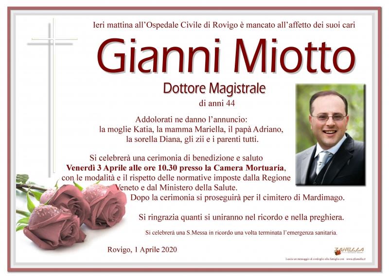 Gianni Miotto