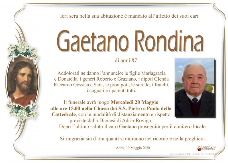 Gaetano Rondina