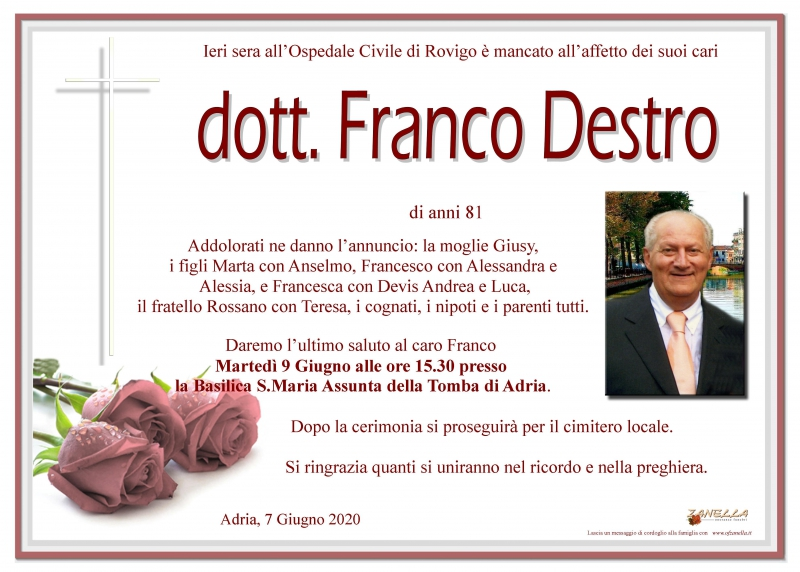 dott. Franco Destro