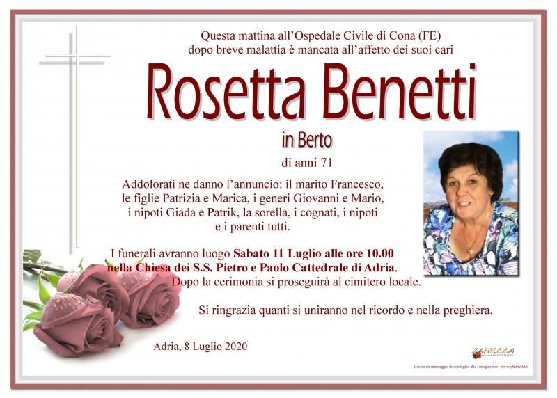 Rosetta Benetti