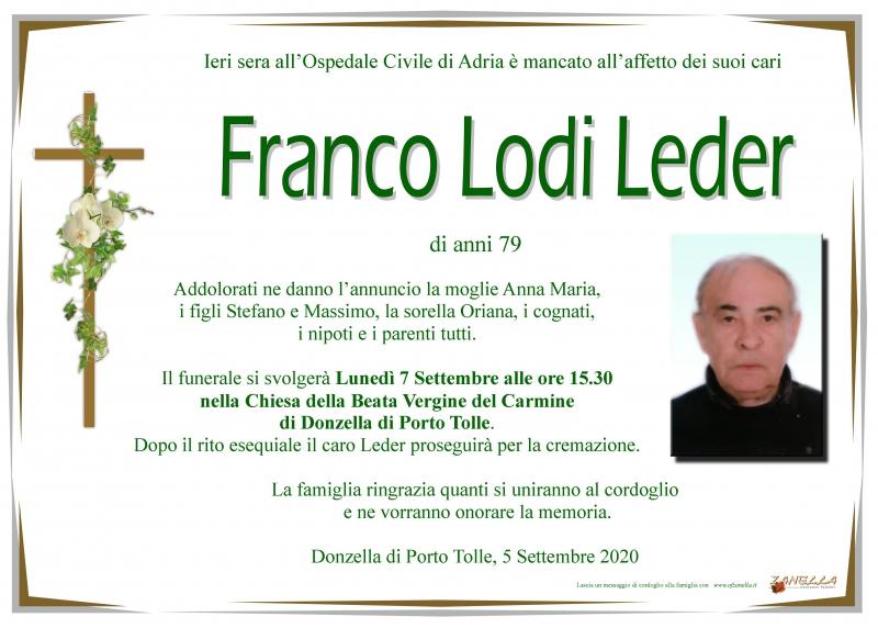 Franco Leder Lodi