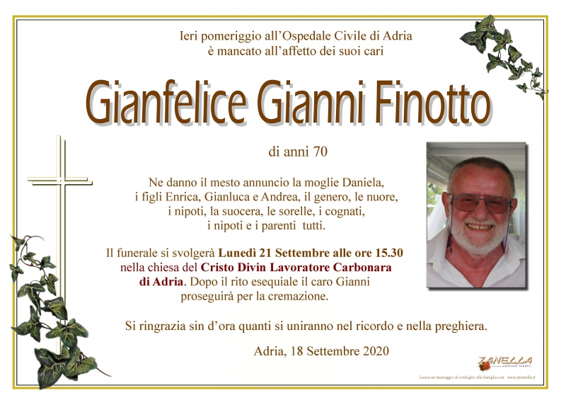 Gianni Gianfelice Finotto